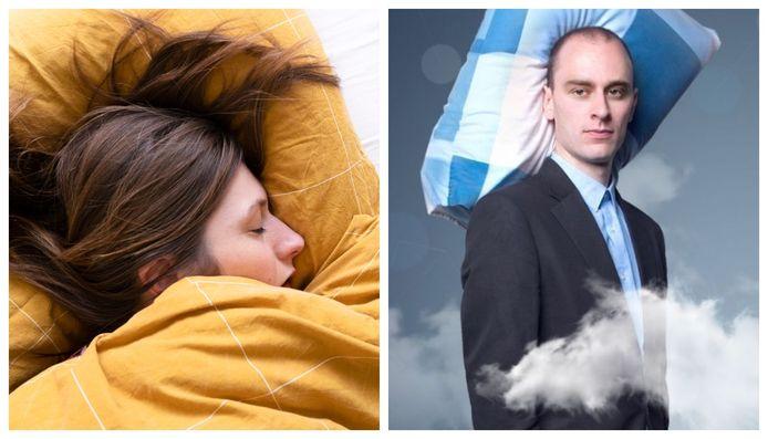 Links: foto ter illustratie, rechts: psycholoog Tim Post