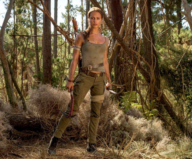 Alicia Vikander in Tomb Raider. Beeld AP