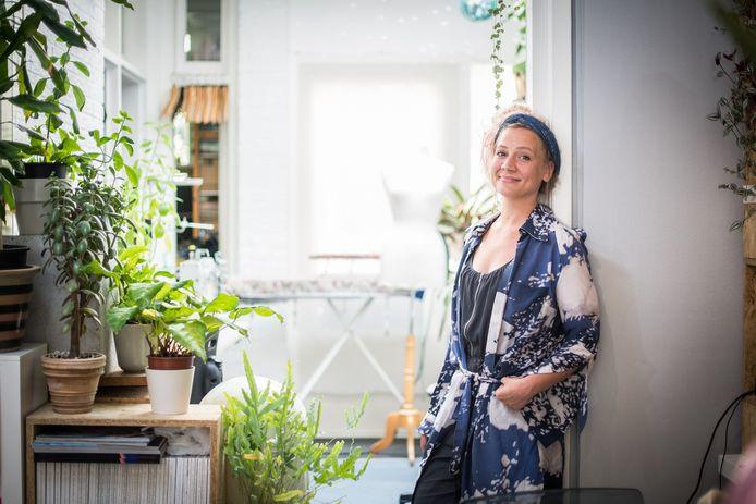 Mode-ontwerpster Mirte Engelhard. Archieffoto: Rolf Hensel
