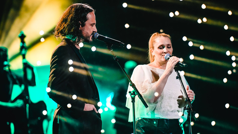 Tijs Vanneste en Tine Reymer in 'The Best Of' Beeld rechten vrij