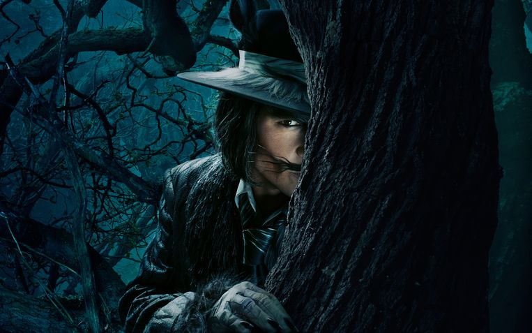 Ook Johnny Depp komt even piepen in 'Into the Woods'. Beeld rv