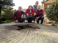 Vrijwilligers vinden oude molensteen Vinkelse molen terug in Oss