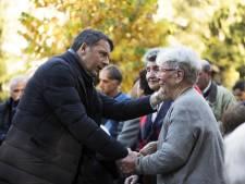 """""""Tout sera reconstruit"""", promet Renzi"""