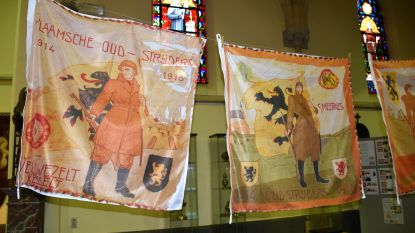 Verloren gewaande vlag Veldwezelt WO1 terug gevonden