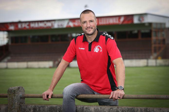 Harald Pinxten speelt na een loopbaan bij onder meer Antwerp bij Hamont 99.