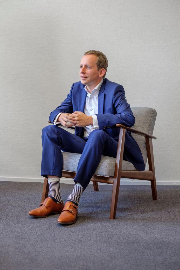 Wethouder Arnout Hoekstra toonde zich de afgelopen maanden van verschillende kanten.