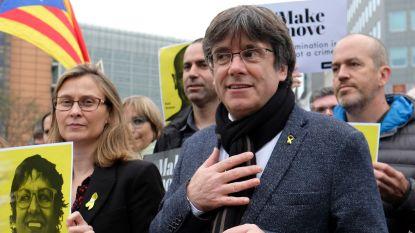 Brussels parket ontvangt Europees aanhoudingsbevel tegen Puigdemont