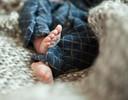 """De voetjes van Sieb, liefdevol gefotografeerd. ,,Sieb zal altijd een onderdeel zijn van ons gezin.""""  (Lees verder onder de foto)"""