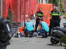 Man valt tijdens werk van steiger aan Haagse Frankenslag