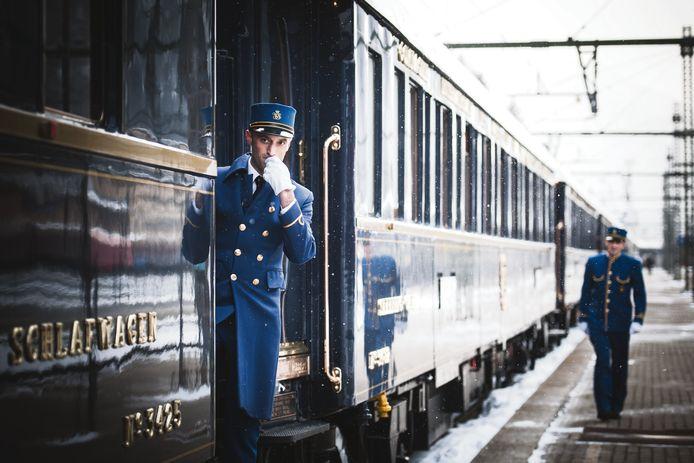 Le Venice Simplon Orient Express est de passage en Belgique