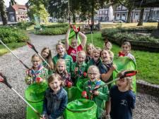 World Cleanup Day; binnenstad Tiel krijgt een schoonmaakbeurt en iedereen helpt mee
