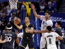 Warriors plaatst zich als eerste team voor play-offs NBA