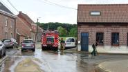 Brandweer moest heel wat straten opkuisen zoals hier in de Repingestraat