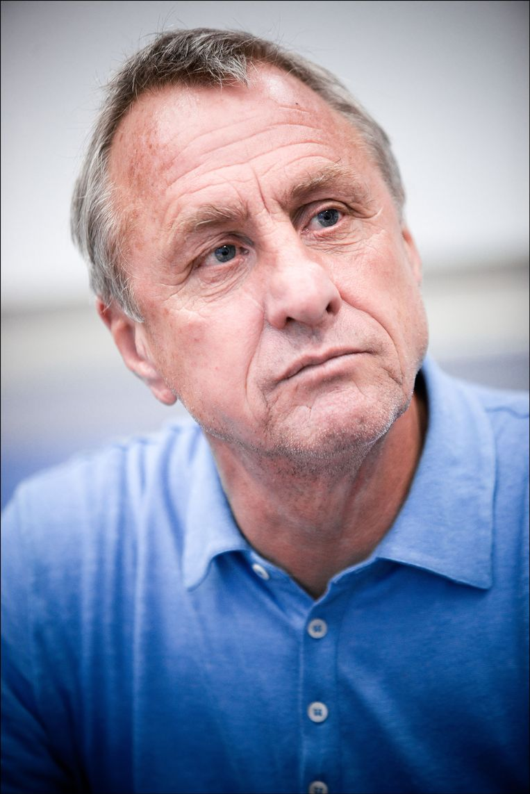 Johan Cruijff. Beeld Photo News