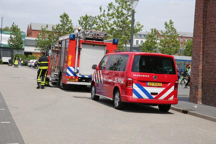 Elektricien gewond na ontploffing in winkelcentrum De Zeeland in Bergen op Zoom