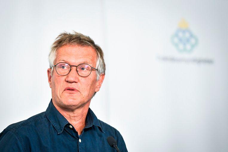 Staatsepidemioloog Anders Tegnell. Beeld AFP