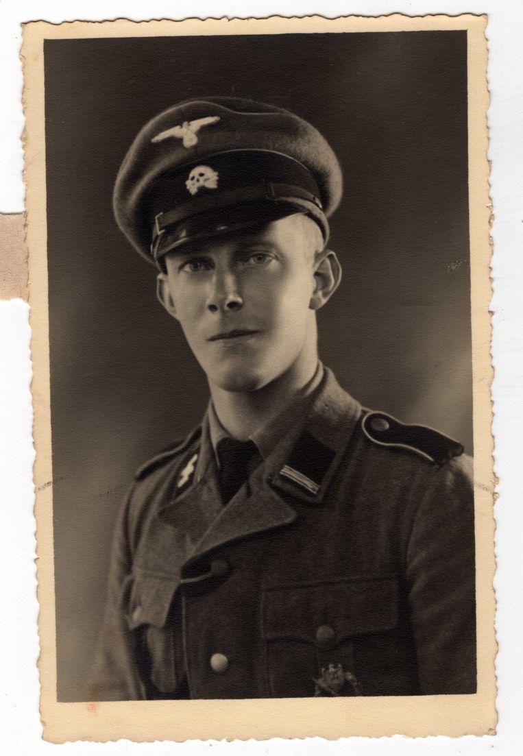 Nederlandse SS-bewaker. Beeld Archief Stijn Reurs