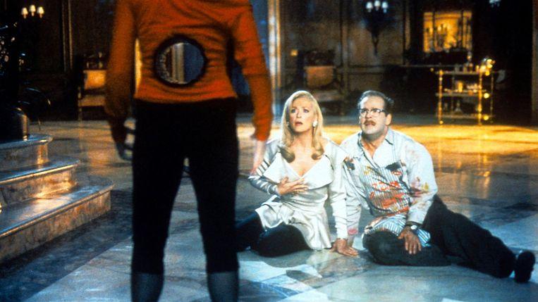 Goldie Hawn, Meryl Streep en Bruce Willis in 'Death Becomes Her' Beeld TMDb