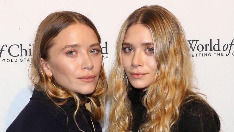 Mary-Kate en Ashley Olsen.