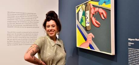 Droom komt uit voor Mignon (29): haar schilderij hangt in Museum Gouda: 'Het was zo spannend!'