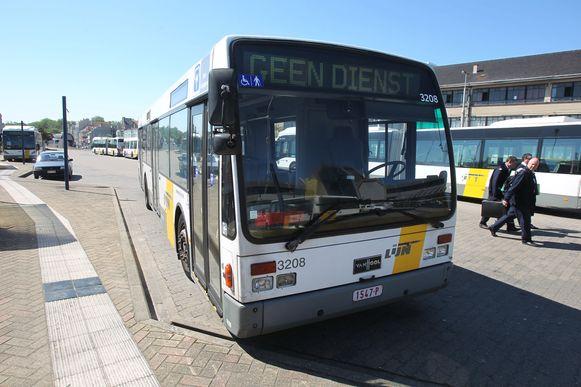 Oostende staking bussen