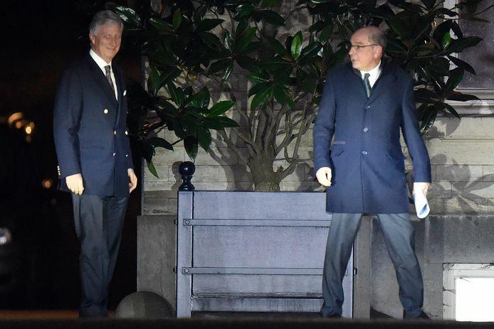 Koen Geens was van 31 januari tot begin februari 'koninklijk' opdrachthouder.