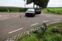 De voertuigen zijn beschadigd geraakt.