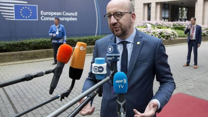 """Michel: """"Landen die samen verder willen gaan moeten dat kunnen, aan hun eigen snelheid"""""""