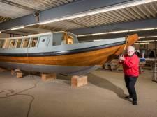 In deze boot zit járen werk en nu is het historische pronkstuk bijna klaar: 'Is het geen snoepje?'