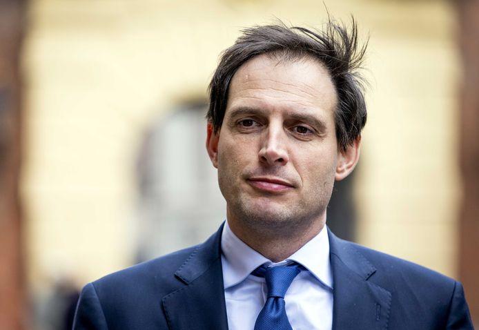 Wopke Hoekstra, lijsttrekker van het CDA en demissionair minister van Financiën. ANP SEM VAN DER WAL