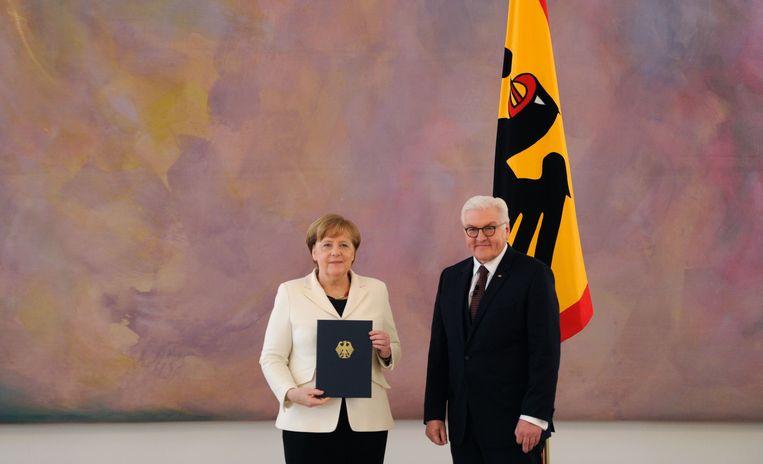 Angela Merkel.  Beeld AFP