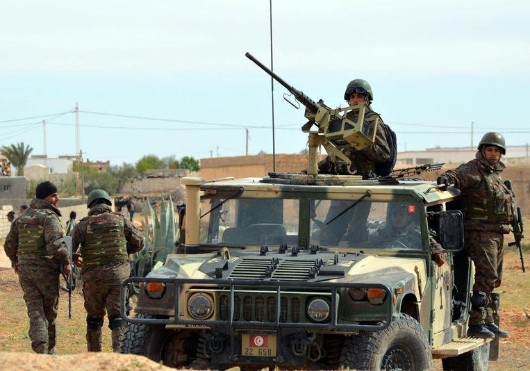 Ook in Tunesië, ten Noorden van Libië, wordt de opkomst van IS gemerkt. Beeld anp