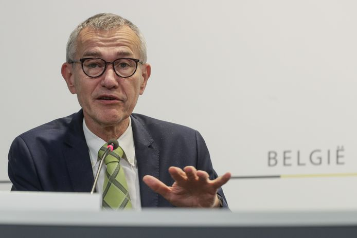 Le ministre de la Santé Frank Vandenbroucke.