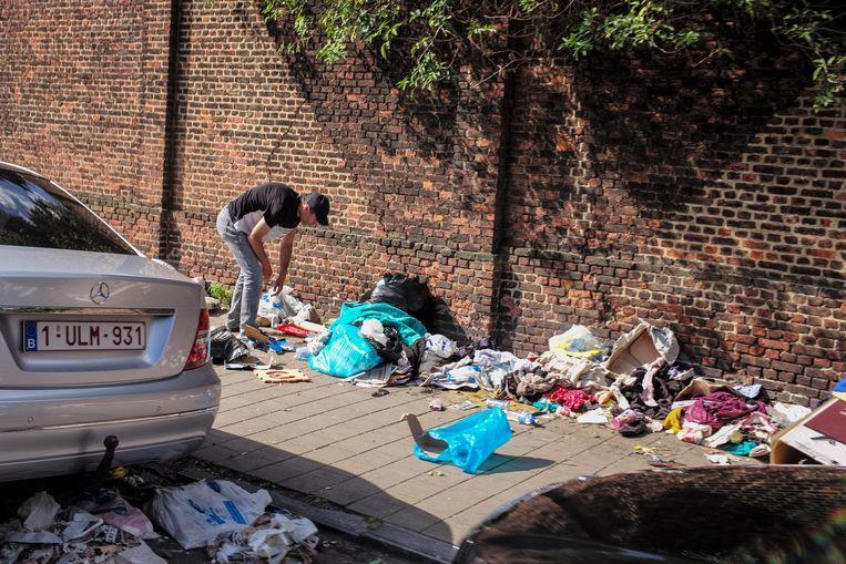 Bij afvalbedrijf Net Brussel stinkt niet alleen het vuilnis. Beeld ID/ Sander de Wilde