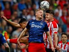 Van de Beek wil eerst nog prijzen winnen bij Ajax