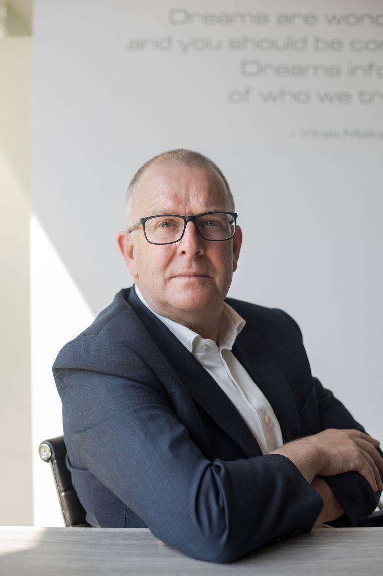 'We zijn in zes weken van een omzet van ongeveer 10 miljoen euro per maand gegaan naar 1 à 1,5 miljoen per maand. 250 werknemers zijn tijdelijk werkloos' Bob Verbeeck, CEO Golazo Beeld Eva Verbeeck