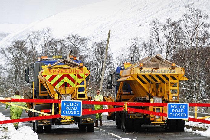 In het Britse Doncaster wilde de gemeente een leuke naam verzinnen voor de plaatselijke sneeuwschuivers. David Plowie is een van de winnaars.