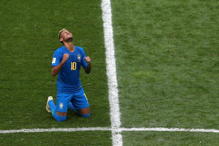De Braziliaanse ster Neymar. Beeld Reuters