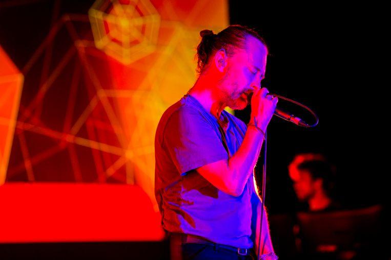 Thom Yorke in de AB. Beeld Koen Keppens