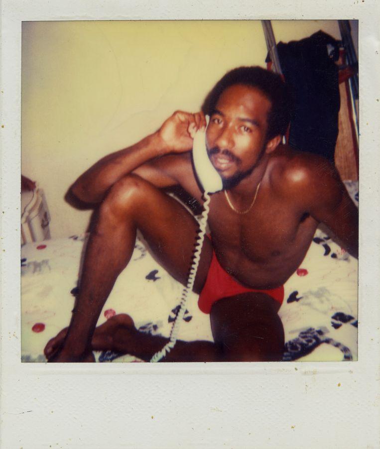De 'phone-sex operator'. Beeld Kyler Zeleny