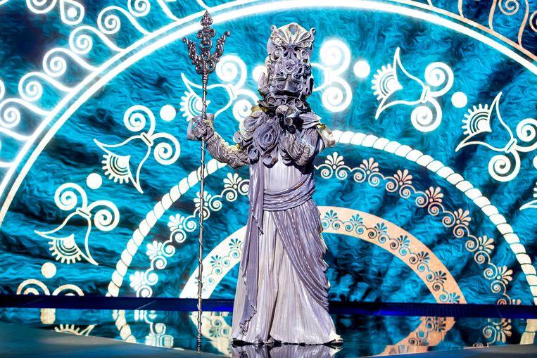 Neptunus in The Masked Singer Beeld RTL4