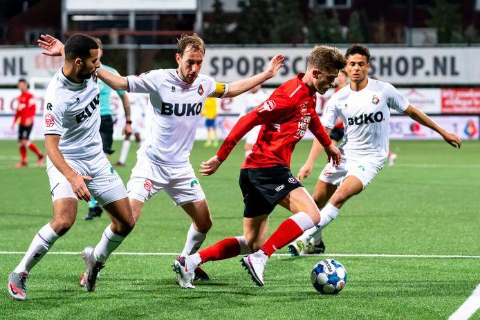De laatste wedstrijd van Helmond Sport was op 29 januari, thuis tegen Telstar.