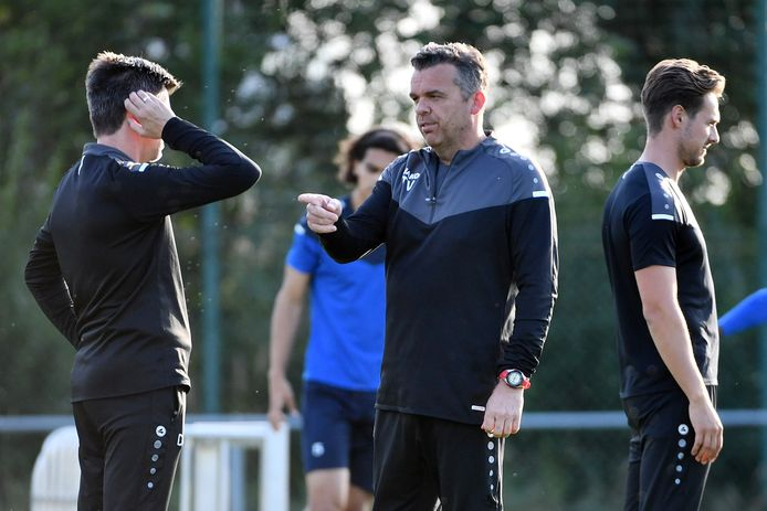 Tom Verhoeven zag een gretige spelersgroep aan het werk op training.
