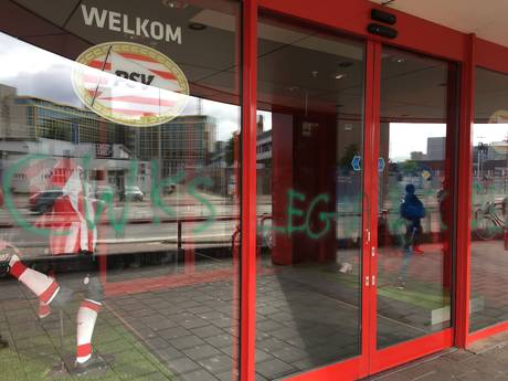 Entrees PSV Fanstore en Basic Fit beklad