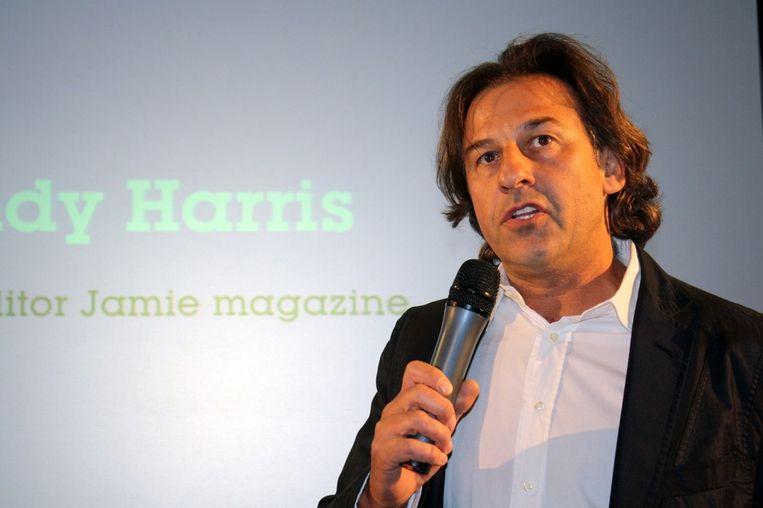 De hoofdredacteur van de Engelse versie, Andy Harris.  <br /> Beeld