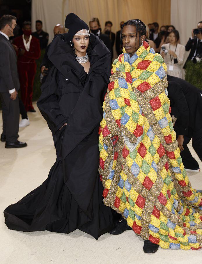 Rihanna en ASAP Rocky