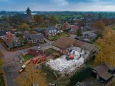 Sloop oude dorpshuis Zalk begonnen