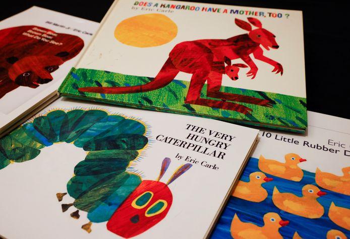 Enkele Engelstalige boekcovers van Eric Carle.