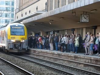 Treinverkeer tussen Brussel-Noord en Brussel-Schuman onderbroken