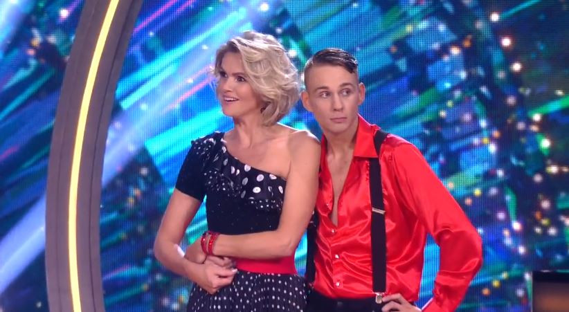 Tooske en Glenn in Dancing with the Stars
